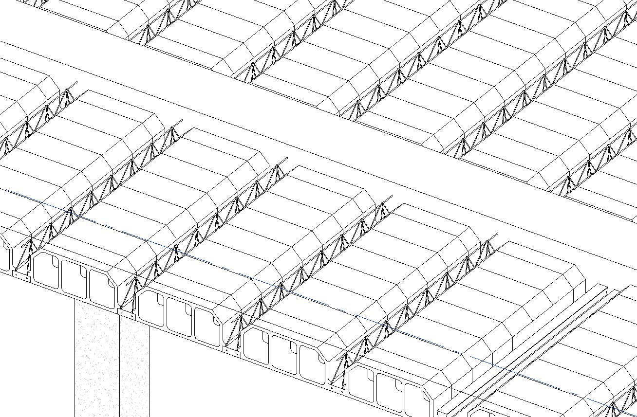 Forjados ii modelado de un forjado unidireccional con for Forjado viguetas metalicas