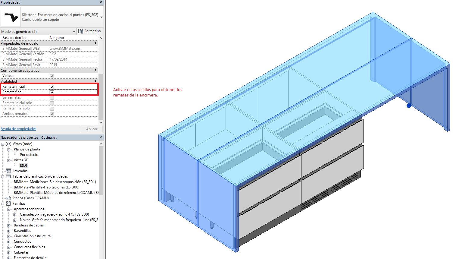 Cocinas I. Creación de una isla en Revit® de Autodesk™ - Blog - Foro
