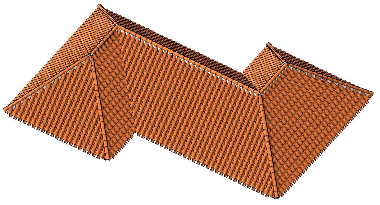 Cubiertas i trabajo con coberturas de teja cer mica for Tipos de cubiertas para tejados